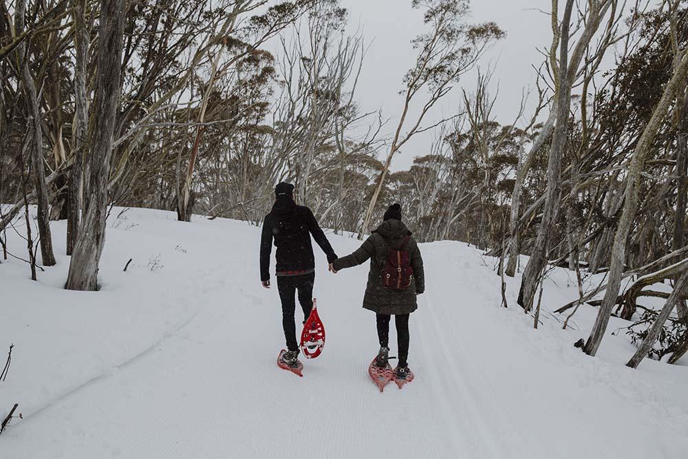 Snow shoe adventure
